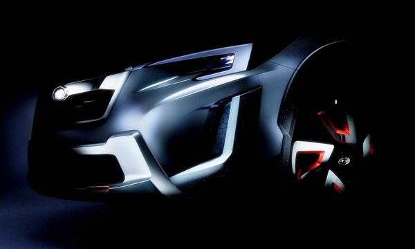 Subaru XV Crossover Concept ใหม่ เตรียมเปิดตัวที่เจนีวามอเตอร์โชว์ 2016