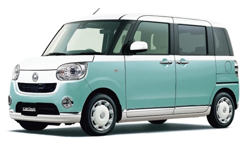 Daihatsu Move Canbus ใหม่ มินิคาร์เอาใจสาว เริ่ม 4 แสนต้น
