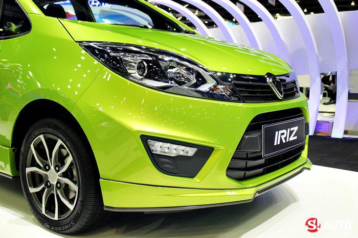 รถ Proton ในงาน Motor Expo 2014