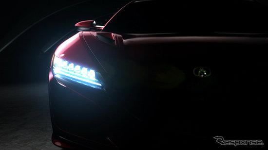Acura NSX ใหม่ปล่อยทีเซอร์เวอร์ชั่นผลิตจริงแล้ว เตรียมเปิดตัวต้นปี 2015 นี้