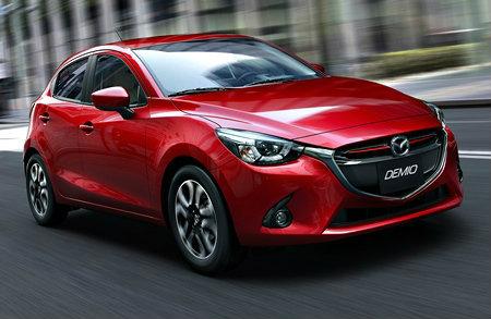 ราคารถใหม่ Mazda ในตลาดรถยนต์เดือนกุมภาพันธ์ 2558