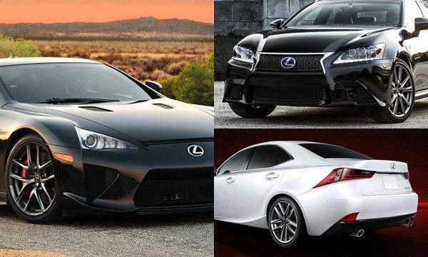 ไปดูที่มาชื่อรุ่น Lexus จริงๆแล้วมีความหมายนะเออ!