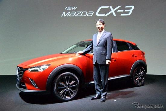 Mazda CX-3 ใหม่ เคาะราคาจำหน่ายเริ่มต้น 6.44 แสนบาท
