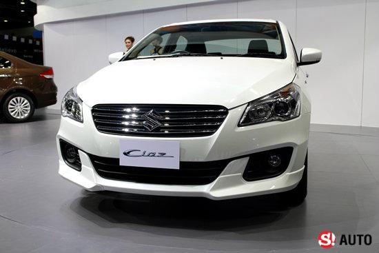 Suzuki Ciaz เผยโฉมแล้วที่งานมอเตอร์โชว์ เคาะราคามิ.ย.นี้