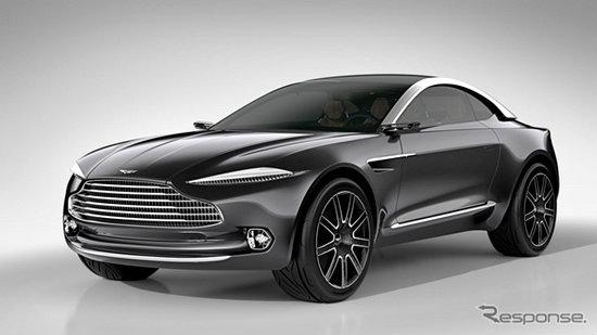Aston Martin DBX Concept ซุปเปอร์คาร์ไฟฟ้าคันแรกเผยโฉมแล้วที่จีน