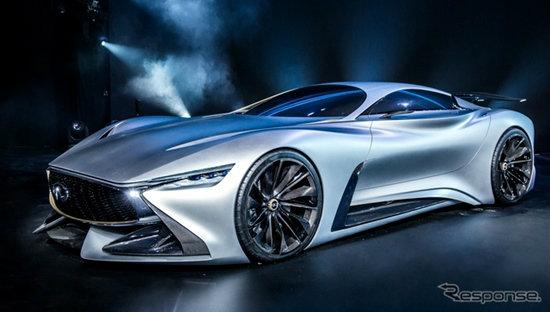 Infiniti Concept Vision Gran Turismo ดีไซน์ล้ำเผยโฉมคันจริงที่เซี่ยงไฮ้