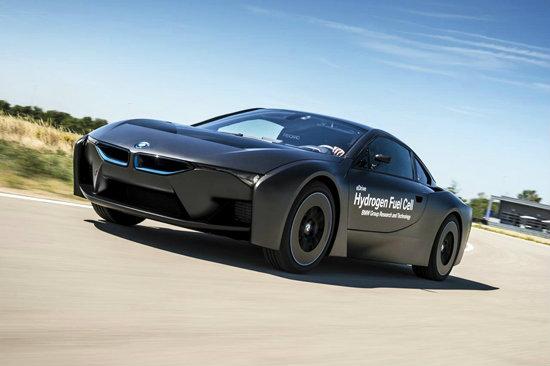'BMW i8' ขุมพลังไฮโดรเจนใหม่เผยโฉมแล้วอย่างเป็นทางการ