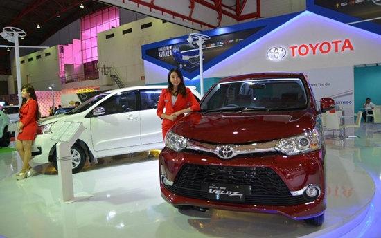 Toyota Avanza 2015 ไมเนอร์เชนจ์ใหม่เผยโฉมที่อินโดฯมอเตอร์โชว์ 2015
