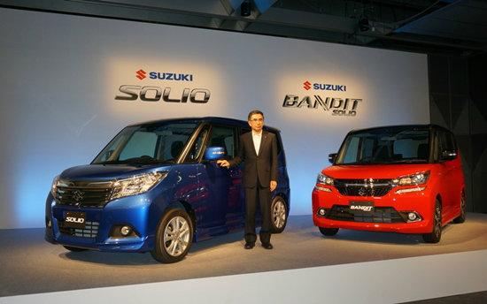 Suzuki Solio และ Solio Bandit ใหม่ ถูกเปิดตัวอย่างเป็นทางการในญี่ปุ่น เคาะเริ่ม 4.34 แสนบาท