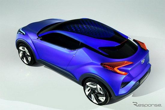 Toyota เตรียมเผย 'C-HR Concept' ครอสโอเวอร์รุ่นเล็กที่งานแฟรงค์เฟิร์ตมอเตอร์โชว์ 2015