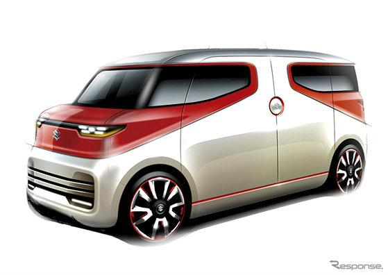 เผยโฉม Suzuki Air Triser ต้นแบบรถแวนสุดล้ำก่อนเปิดตัวที่ Tokyo Motor Show 2015