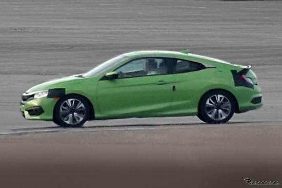 หลุด 2016 Honda Civic Coupe เจเนอเรชั่นใหม่ก่อนเปิดตัว 17 พ.ย.นี้