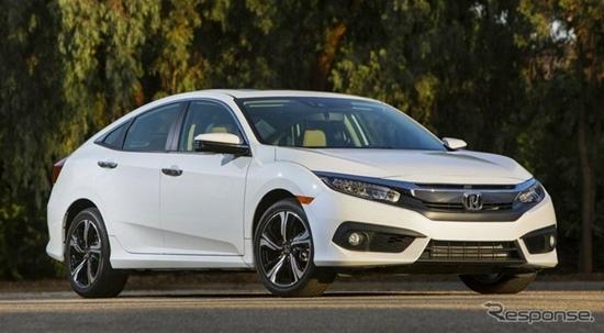 2016 Honda Civic ใหม่ ได้รับรางวัลรถใหม่ยอดเยี่ยมแห่งปีจากประเทศแคนาดา