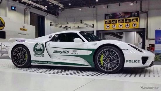 ดูไบนำ 'Porsche 918 Spyder' มาใช้เป็นรถตำรวจแล้ว