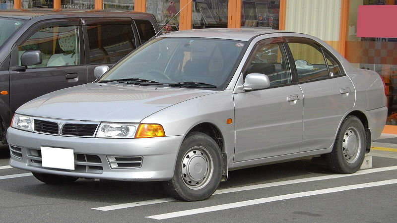 มือสองน่าสน  Mitsubishi ท้ายเบนซ์ขับก็ดี..แต่งก็เท่ห์