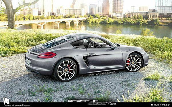 2013 Porsche cayman . ไม่ได้แอบถ่ายแต่จัดให้จากกราฟฟิกล้วนๆ