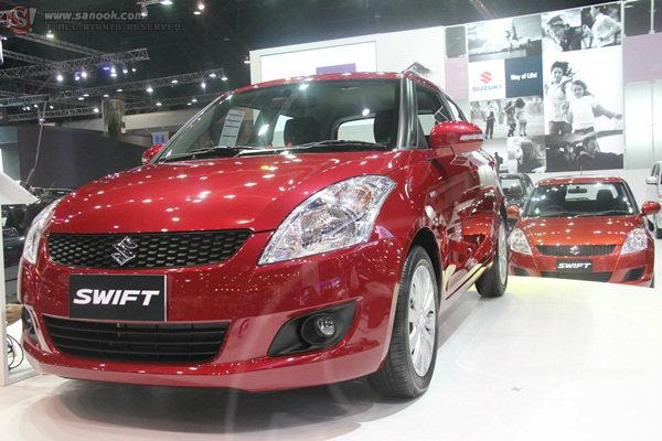 Suzuki ..ปีนี้มากับ New! Swift ในงานมอเตอร์โชว์