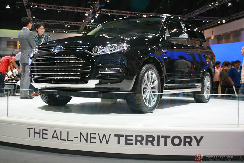 Motor Show 2012 : Ford Territory  ว่าที่คู่ปรับในตลาดอเนกประสงค์