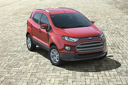 2013 Ford Eco sport ...ว่าที่อเนกประสงค์เล็กในเวอร์ชั่นขายจริง