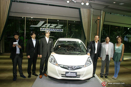 New! Honda Jazz Hybrid  ประหยัดยิ่งกว่าในราคาย่อมเยา