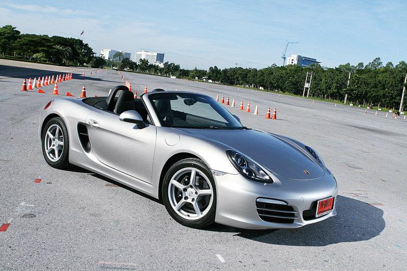 Sanook! Drive  Porsche Boxster  สมรรถนะสุดยอด...หล่อสุดขั้ว