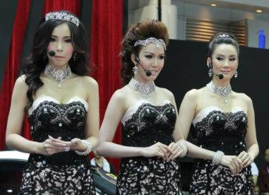 พริตตี้ BRG Motor Expo 2012