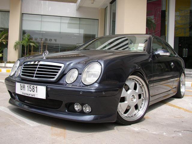 Benz CLK 230 ปรับแต่งสไตล์ Brabus