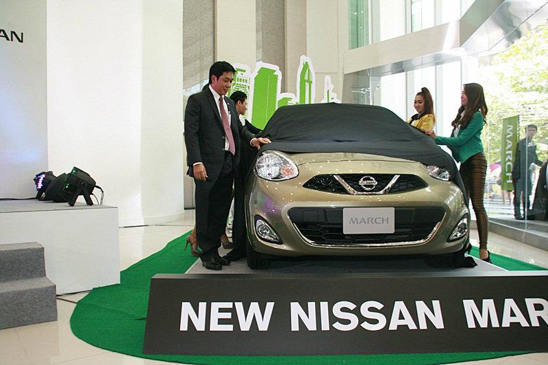 Nissan  เปิดตัว  Nissan March Minorchange  เคาะราคาเพิ่มจากรุ่นก่อนเพียง 13,000บาท