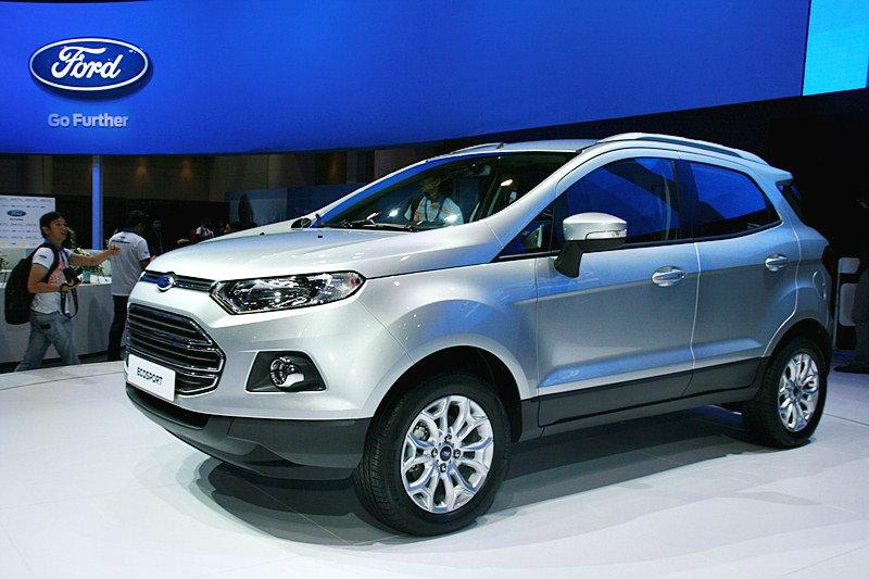 Ford Eco sport ว่าที่น้องใหม่ ตลาดรถยนต์อเนกประสงค์