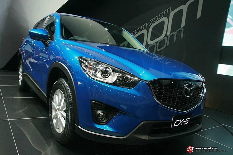 Mazda CX-5 อีกว่าที่อเนกประสงค์น้องใหม่