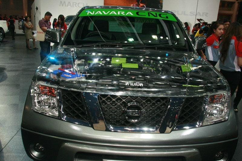 Nissan Navara CNG  ...วาระซ่อนเร้น อีกดาวเด่นเวทีมอเตอร์โชว์