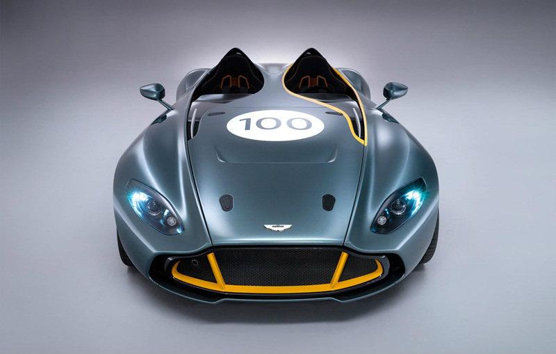 Aston Martin CC100 Speedster concept ต้นแบบจากตำนาน ตัวแข่งในสนามเลอมังค์