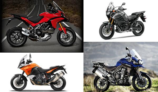ดูจะๆ Adventure Bikes 4 ค่ายยักษ์ใหญ่ คันไหนเจ๋งสุด!