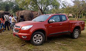 บุกป่าฝ่าดงไปกับ Chevrolet Colorado 2014 ใหม่ ควบพลังดีเซล 200 แรงม้า!