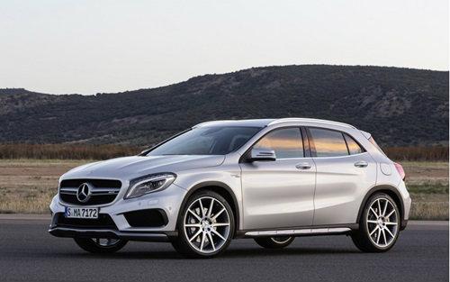 Mercedes-Benz GLA 45 AMG เตรียมเปิดตัวที่สหรัฐฯ