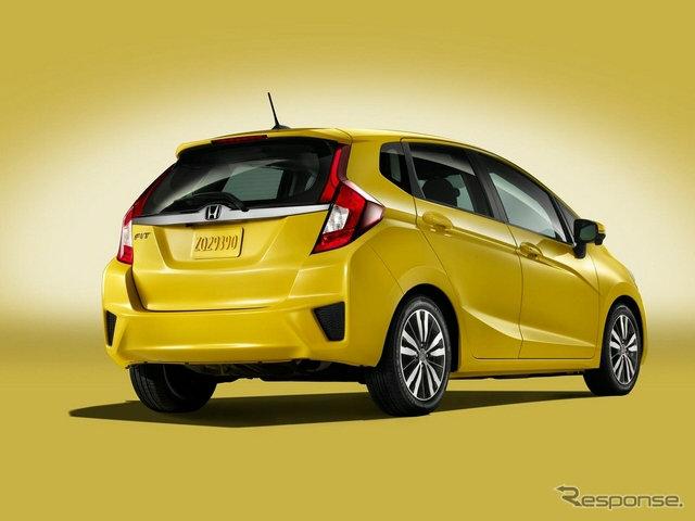 Honda Jazz 2014 สีเหลืองใหม่สวยโดนใจ