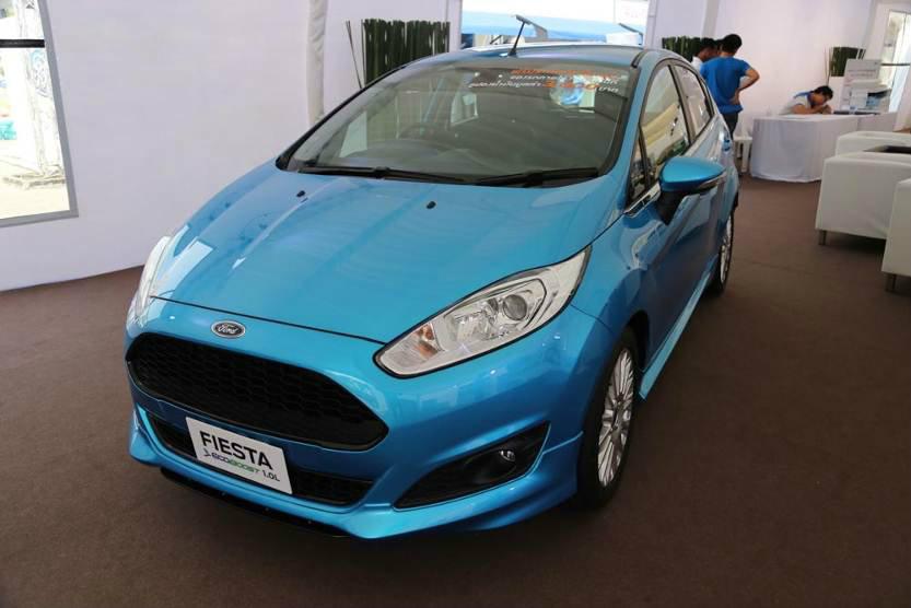 """Ford """"เฟียสต้า สนุกกับจังหวะใหม่ของชีวิต แรงขึ้นอีกขั้นกับเครื่องยนต์ EcoBoost"""""""
