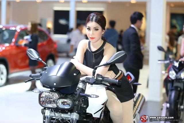 พริตตี้ BMW Motorrad - Motor Show 2014