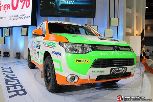 รถค่าย MITSUBISHI - Motor Show 2014