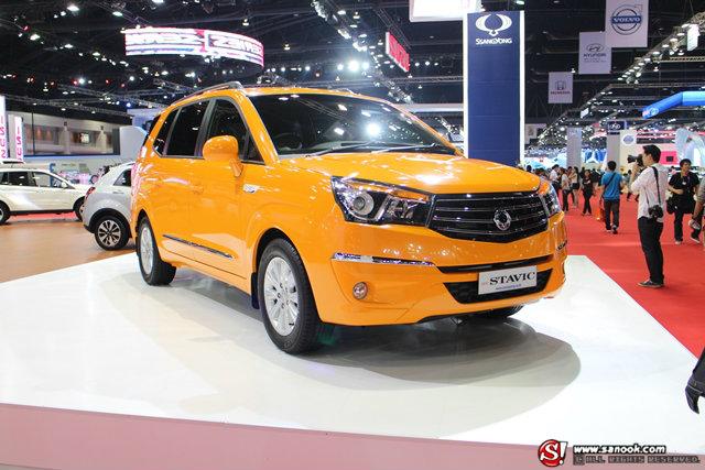 รถค่าย SSANGYONG - Motor Show 2014