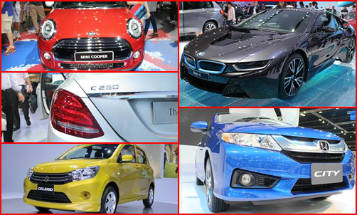 รถยนต์ 5 รุ่นห้ามพลาดในงานมอเตอร์โชว์ 2014