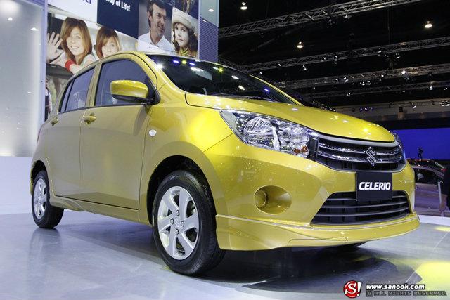 Suzuki Celerio อีโคคาร์รุ่นใหม่ ประหยัดกว่าเดิม เคาะ 3.5 แสน