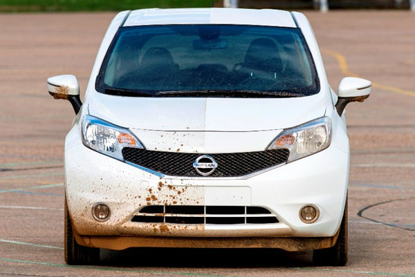 นิสสันประเดิมผลิต 'รถไม่ต้องล้าง'