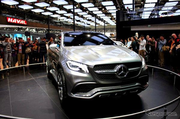 Mercedes Benz เปิดตัว Concept Coupe SUV คู่แข่ง BMW X6