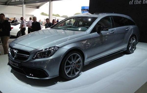 Mercedes-Benz เผยโฉม CLS63 AMG เวอร์ชั่นไมเนอร์เชนจ์