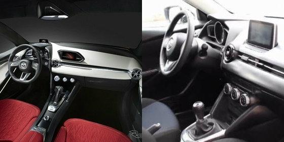 หลุดภายใน Mazda2 2015 ใหม่ เตรียมเปิดตัวต.ค.นี้