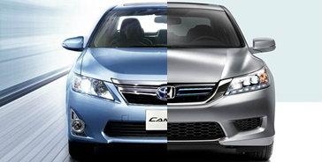 เปรียบเทียบ Toyota Camry Hybrid และ Honda Accord Hybrid