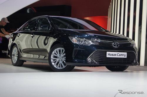 Toyota Camry ไมเนอร์เชนจ์เปิดตัวแล้ว คาดโฉมเดียวกับไทย