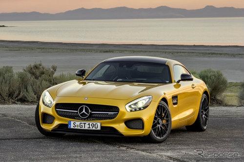 Mercedes-Benz AMG GT เปิดตัวแล้วอย่างเป็นทางการ