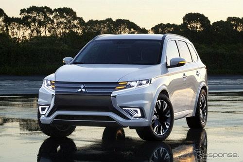 Mitsubishi Outlander PHEV Concept-S เผยโฉมแล้ว